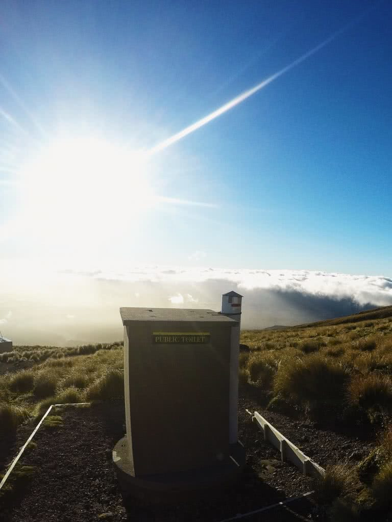 Mike Pidgeon The Lonely Mountain // Mount Taranaki (NZ) toilet view