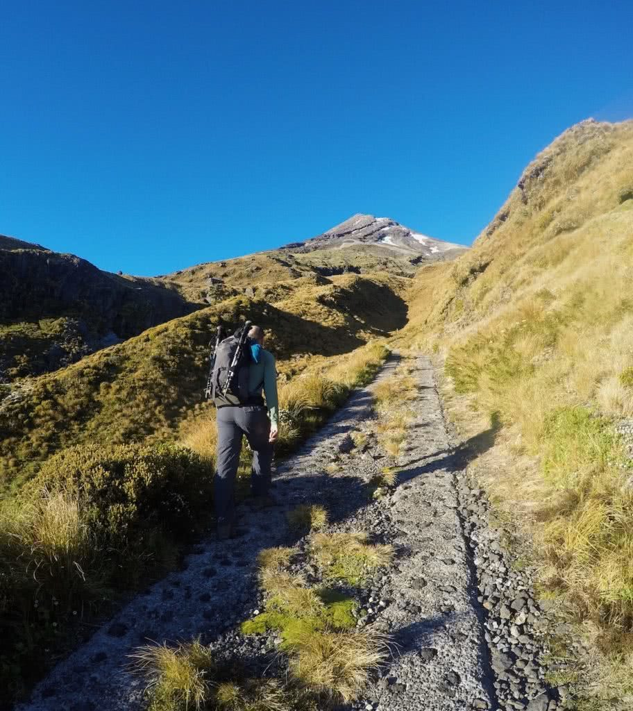 Mike Pidgeon The Lonely Mountain // Mount Taranaki (NZ) mountain trail