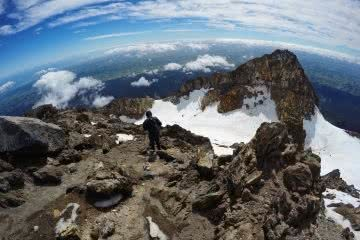 Mike Pidgeon The Lonely Mountain // Mount Taranaki (NZ) ice snow hiking