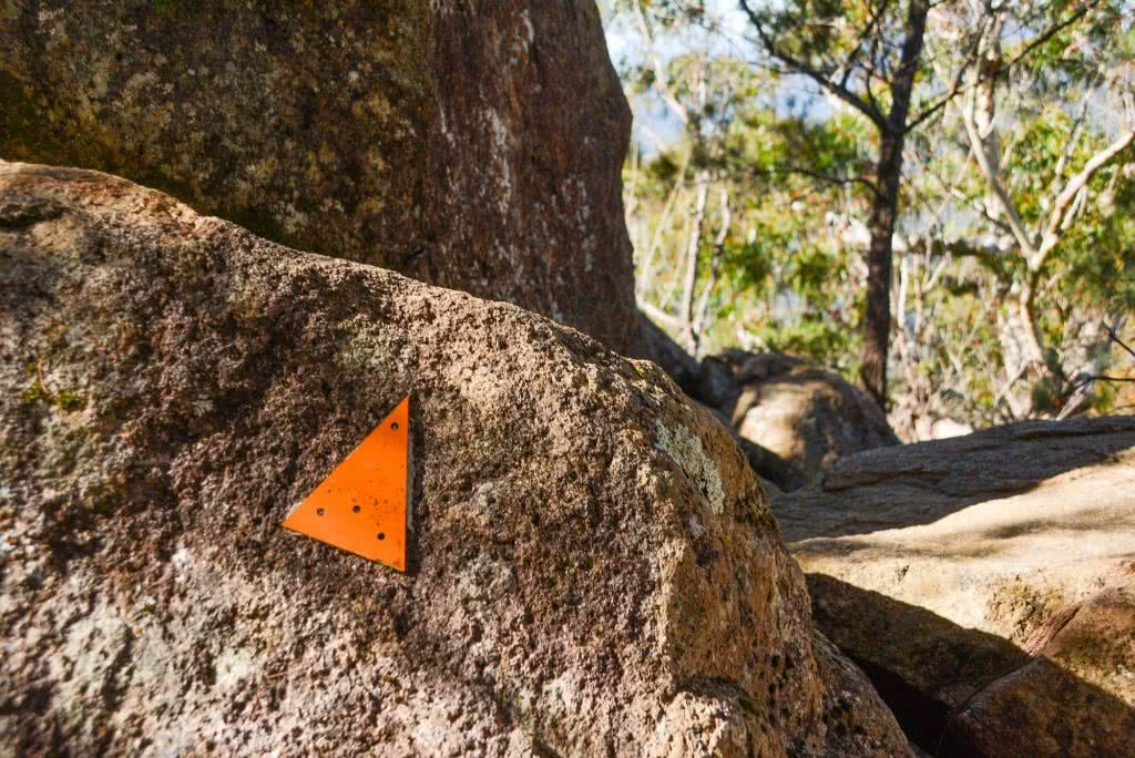 Lisa Owen Mount Barney South Ridge Scenic Rim Queensland QLD trail track marker South Ridge