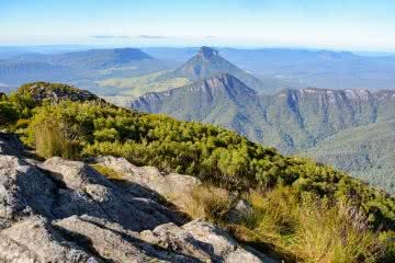 Lisa Owen Mount Barney South Ridge Scenic Rim Queensland QLD mountain East Peak Summit