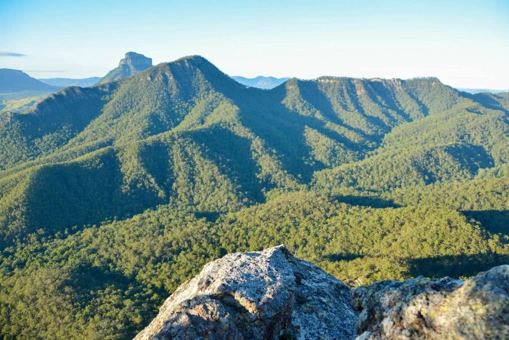 Lisa Owen Mount Barney South Ridge Scenic Rim Queensland QLD Mountain Viewpoint