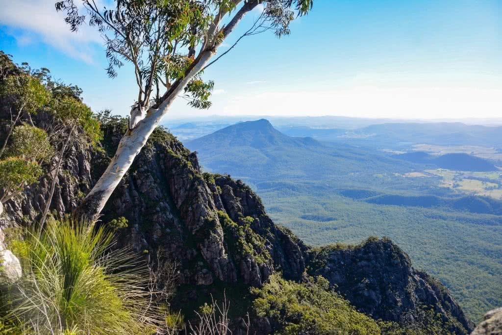 Lisa Owen Mount Barney South Ridge Scenic Rim Queensland QLD mountain Ridgeline View