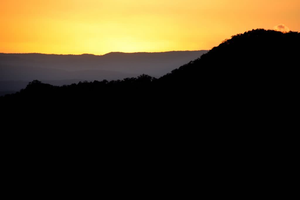 Lisa Owen Mount Barney South Ridge Scenic Rim Queensland QLD Mountain Viewpoint Mt Barney Sunrise horizon