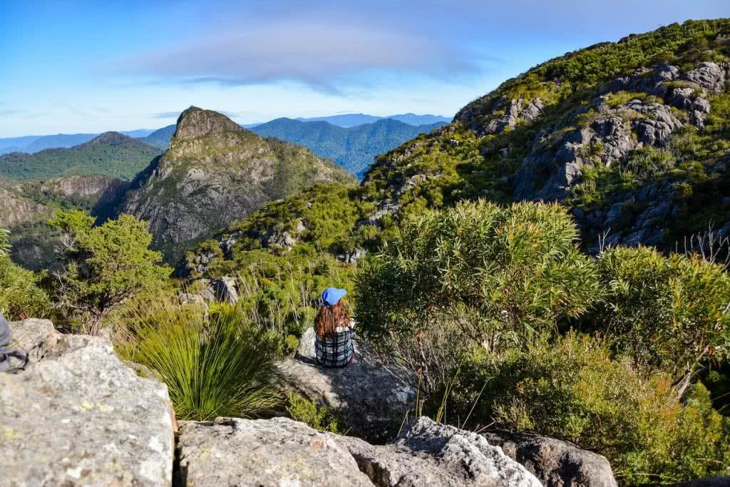 Lisa Owen Mount Barney South Ridge Scenic Rim Queensland QLD Mountain West East Peak