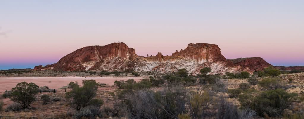 outback way rob mulally rock sunset