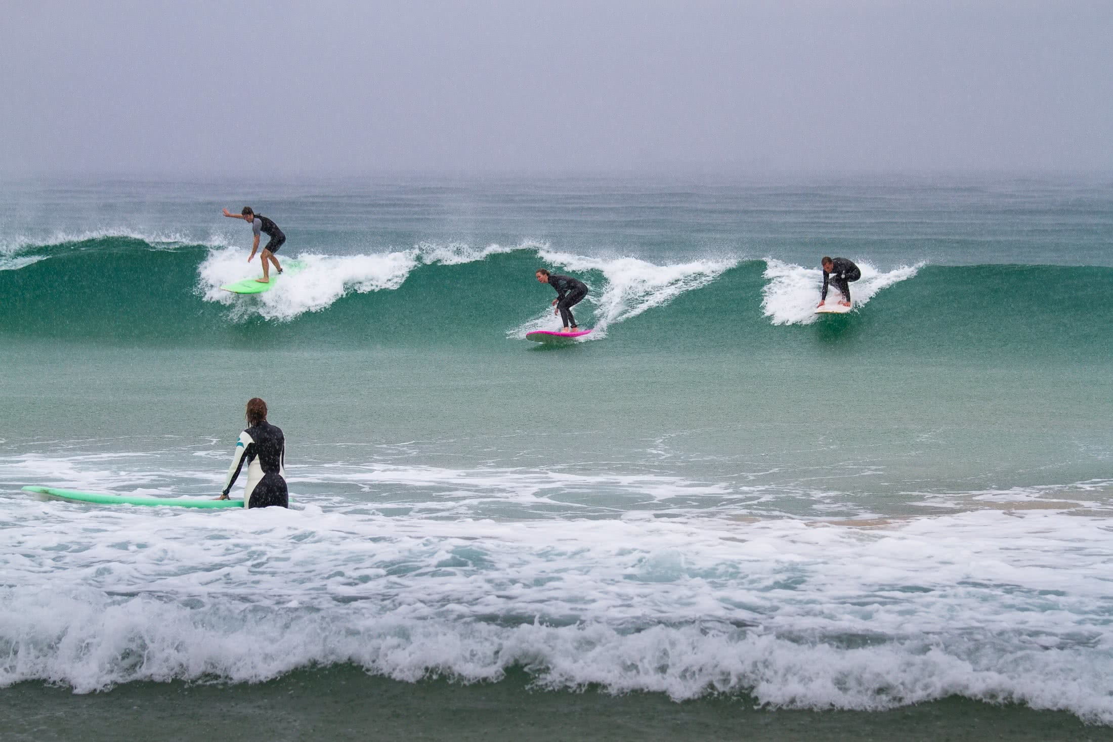 Find Your Adventure Soulmate - Wilderness Escapes Liam Hardy Wilderness Surf Escape friends laughing party wave surfing