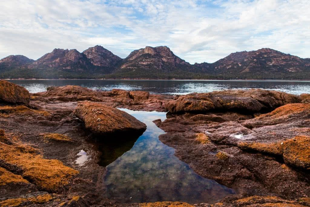 freycinet circuit mountains tasmania mason clay