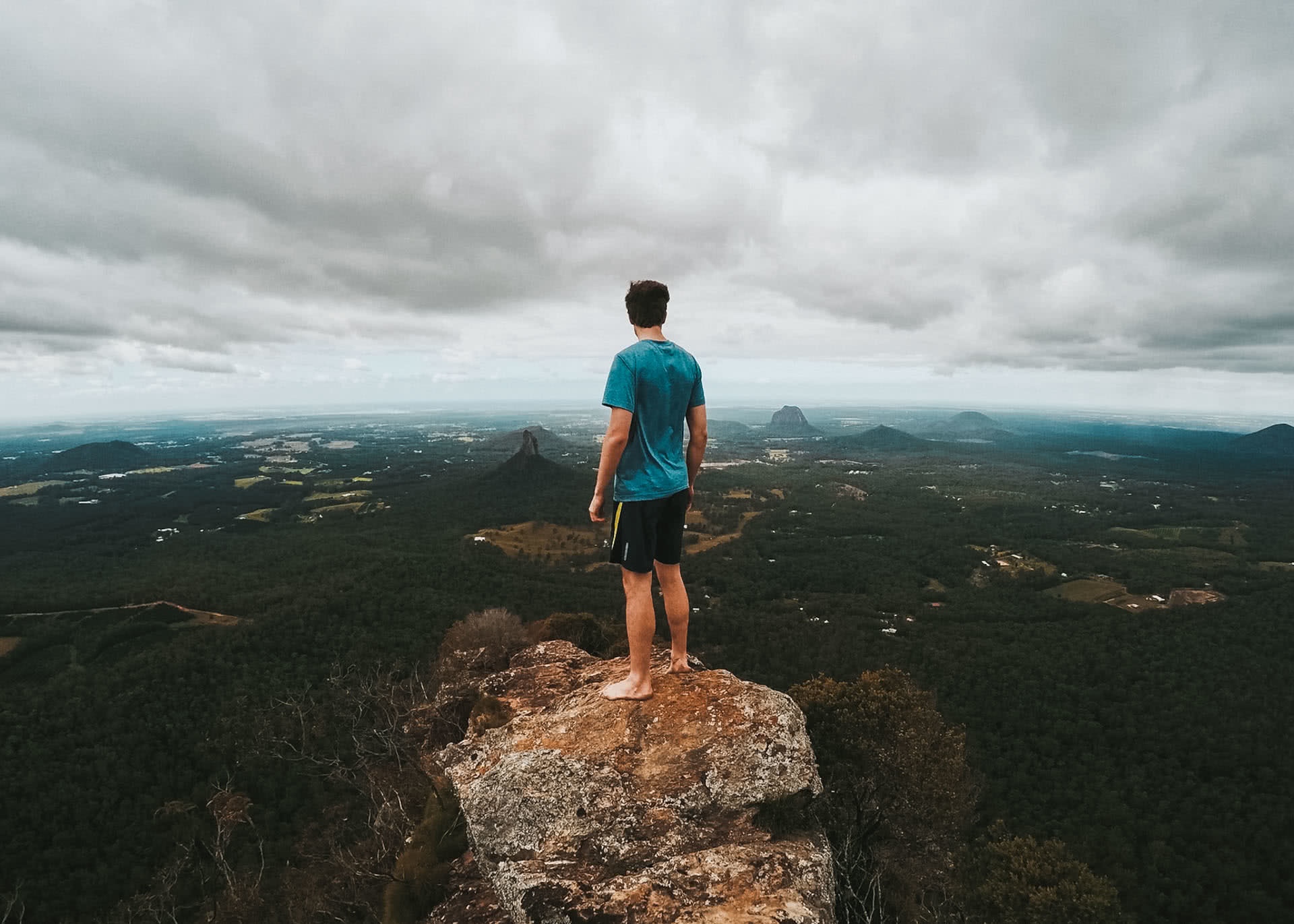 Climbing and Caving at Mount Beerwah - Glass House Mountains (QLD), Shot by @hindles_, Mount Beerwah, Summit, Glasshouse Mountains