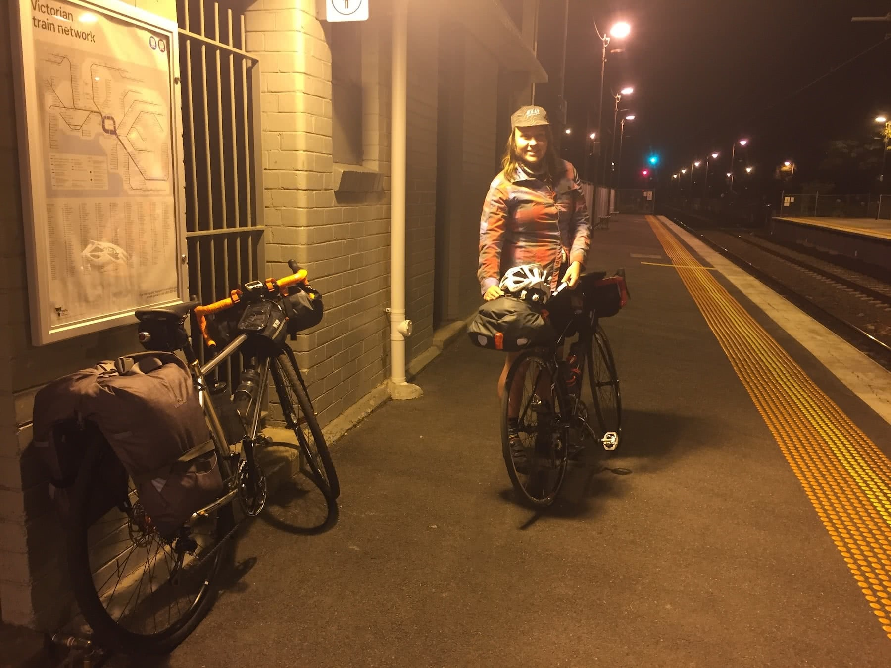 Chris Paola Great Victorian Rail Trail Acheron Way Vic Melbourne bikepacking mountain biking