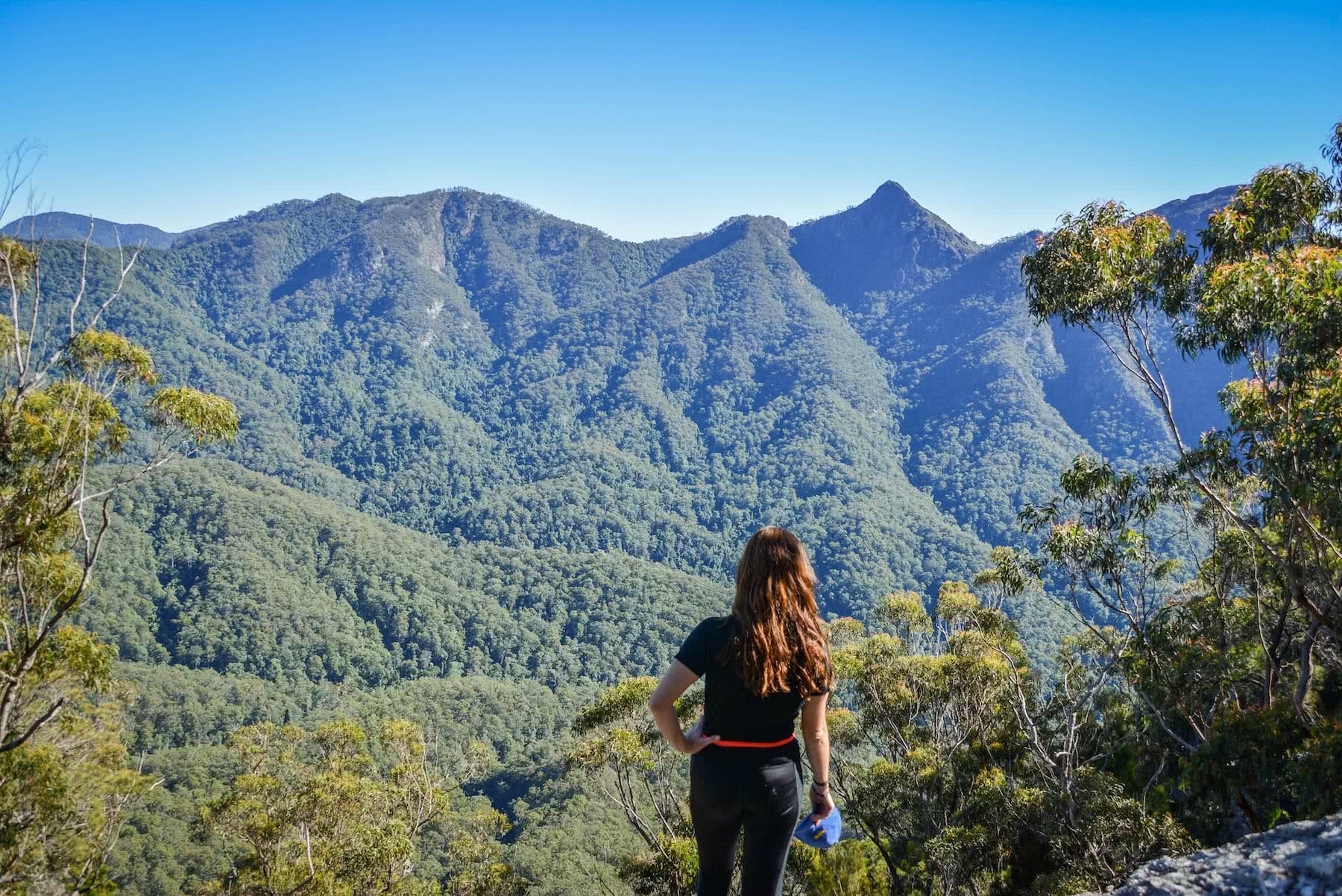 Lisa Owen 10 Peaks in 10 weeks Scenic Rim QLD Mount Ernest