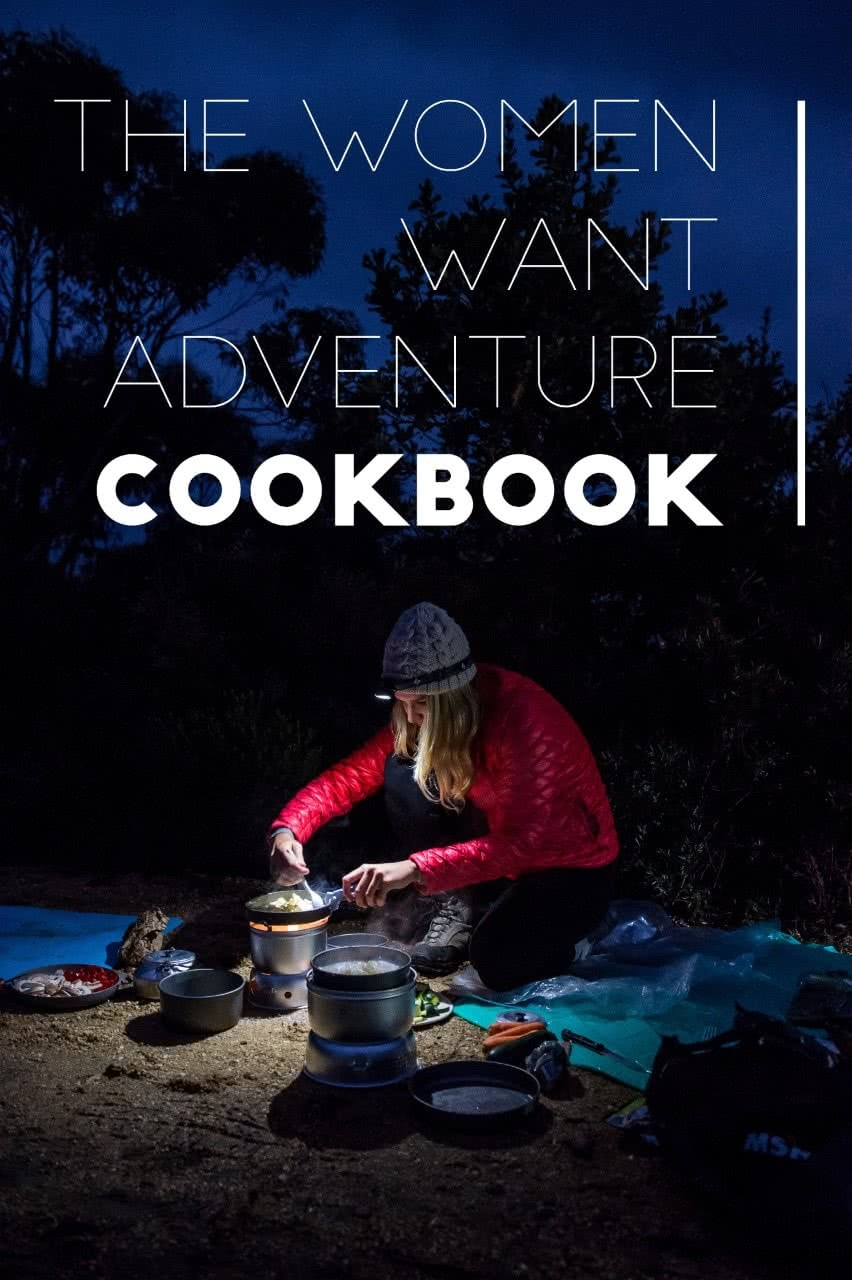 Women Want Adventure CookBook cooking Monique Farmer