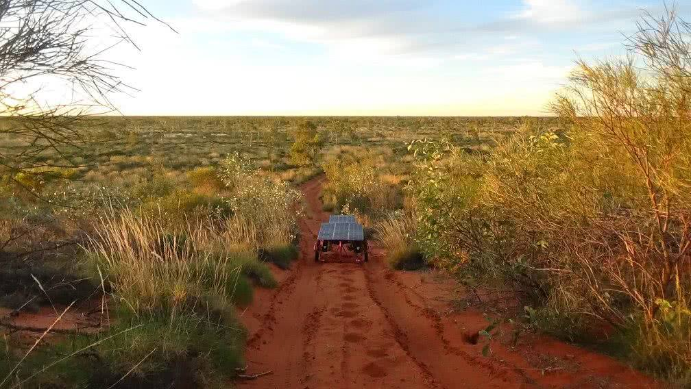 Sam Mitchell, Canning Stock Route, Outback, trailer, dune