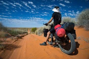 Benny Littlejohn, Simpson Desert Crossing, Adventure Co, fatbikes, mountain bike, cycling