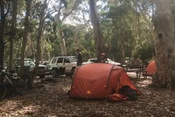 car camping, mt kaputar, exped venus II, tent, 4wd, mountain bike, hiking gear