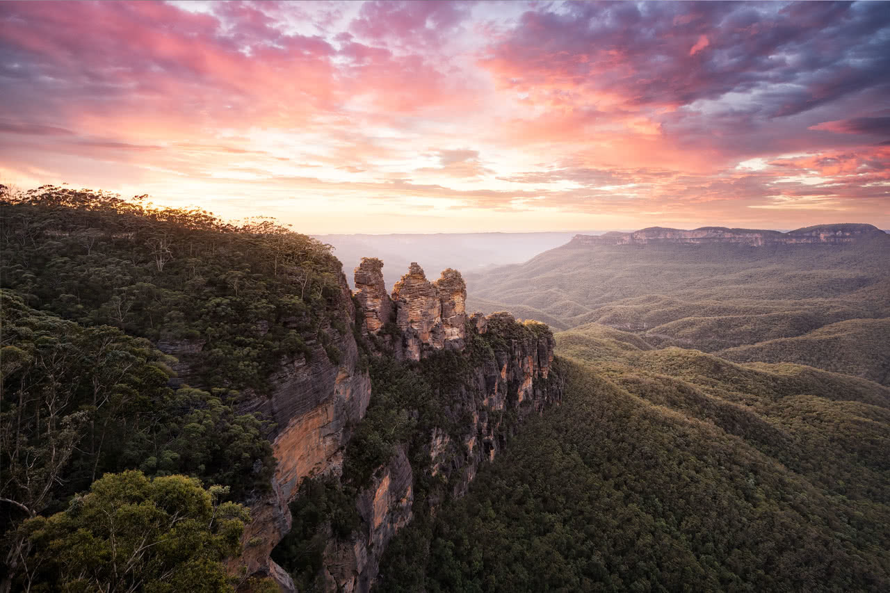 Jake Anderson Three Sisters Blue Mountains
