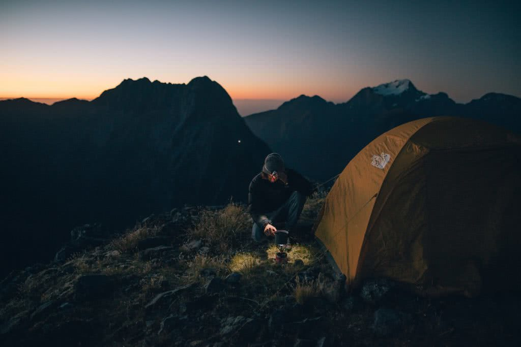 Want To Be An Adventure Photographer? gareth mcguigan adventure photography mountain man tent