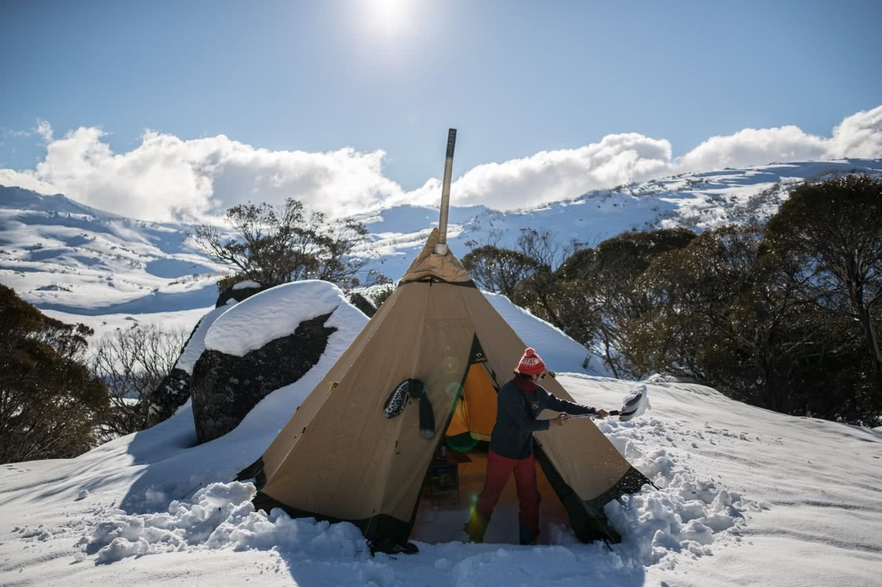 capital brewing co., samantha hawker, beer, backcountry, kosciuszko national park, teepee