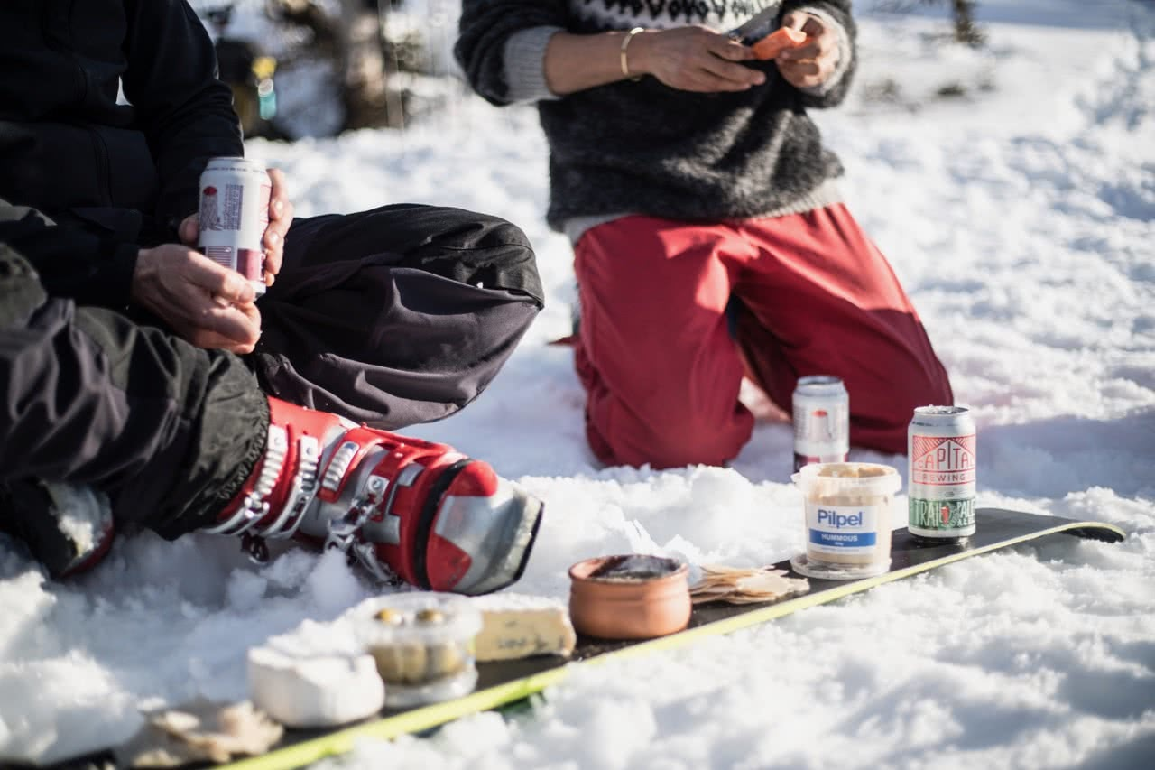 capital brewing co., samantha hawker, beer, backcountry, kosciuszko national park, afternoon tea, ski,