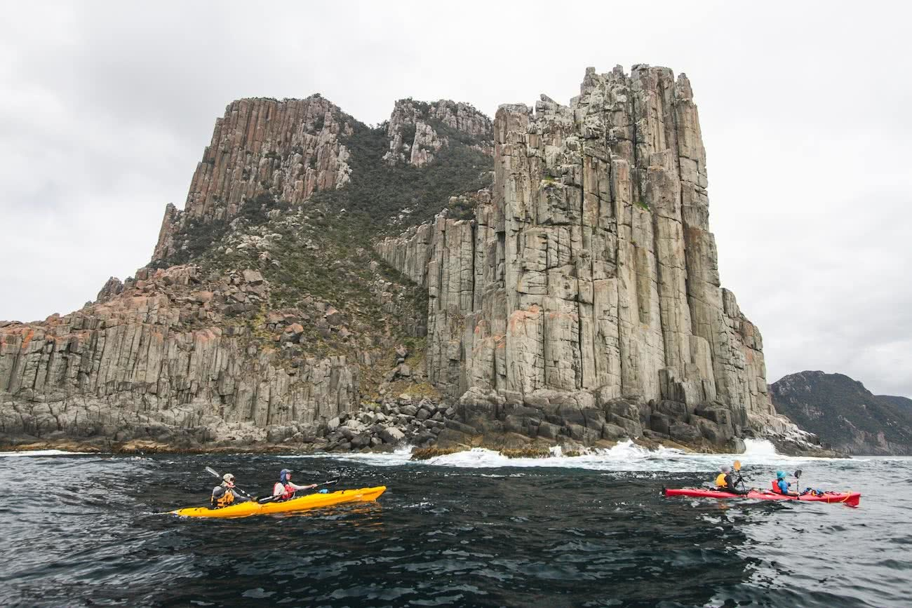2013, Four Pillars in One Day, Tasman Peninsula, the north face adventure grant