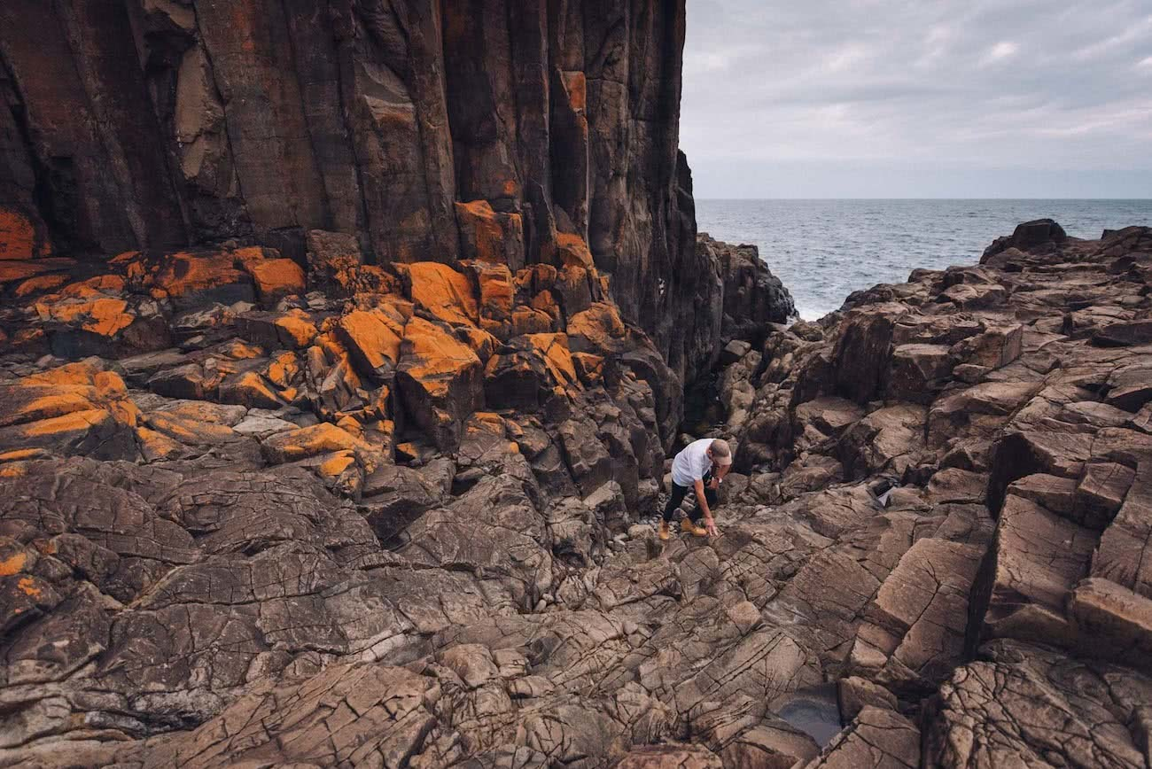 adrian mascneon, bombo quarry, nsw, coastal