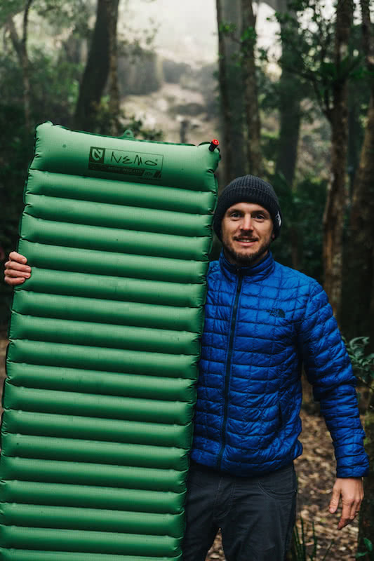 Sleeping mat group review Nemo Insulated 20R Sleeping Pad