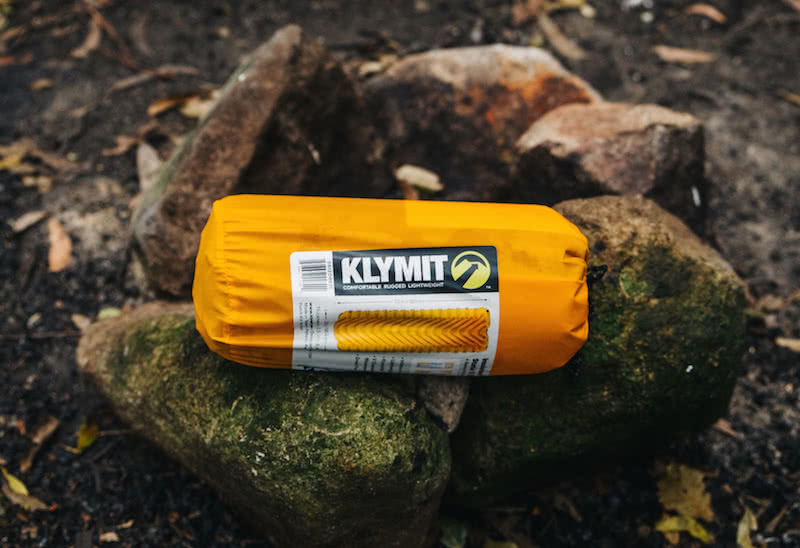Sleeping mat group review KLYMIT INSULATED STATIC V LITE