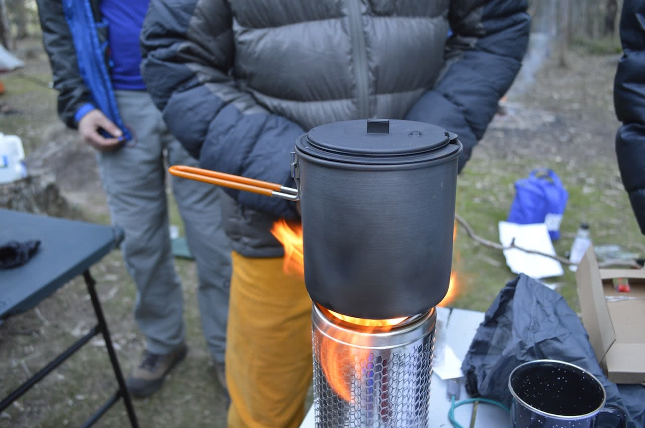 biolite, campstove 2, fire, cookstove, review