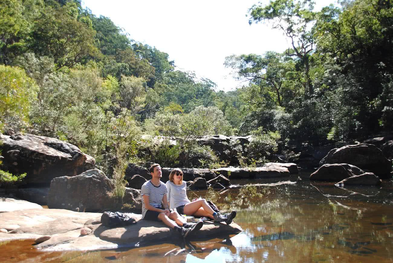 Glenbrook Gorge, Matt Pearce, blue mountains, kind of, nsw, 10 walks near sydney you can reach by train