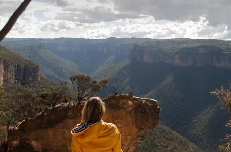 Blackheath to Hanging Rock, Matt Pearce, blue mountains, nsw, lookout, view, valley, 10 walks near sydney you can reach by train