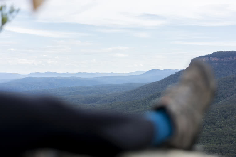 Katoomba to Ruined Castle, Matt Pearce, valley, lookout, blue mountains, nsw, 10 walks near sydney you can reach by train,