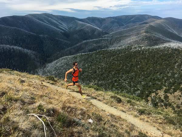 Lachie Thomas (photographer) Pat Corden (subject) Mt Feathertop (The Razorback) victorian high country