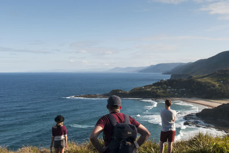Otford to Bundeena, Matt Pearce, coastal walk, walks near sydney you can reach by train, ocean