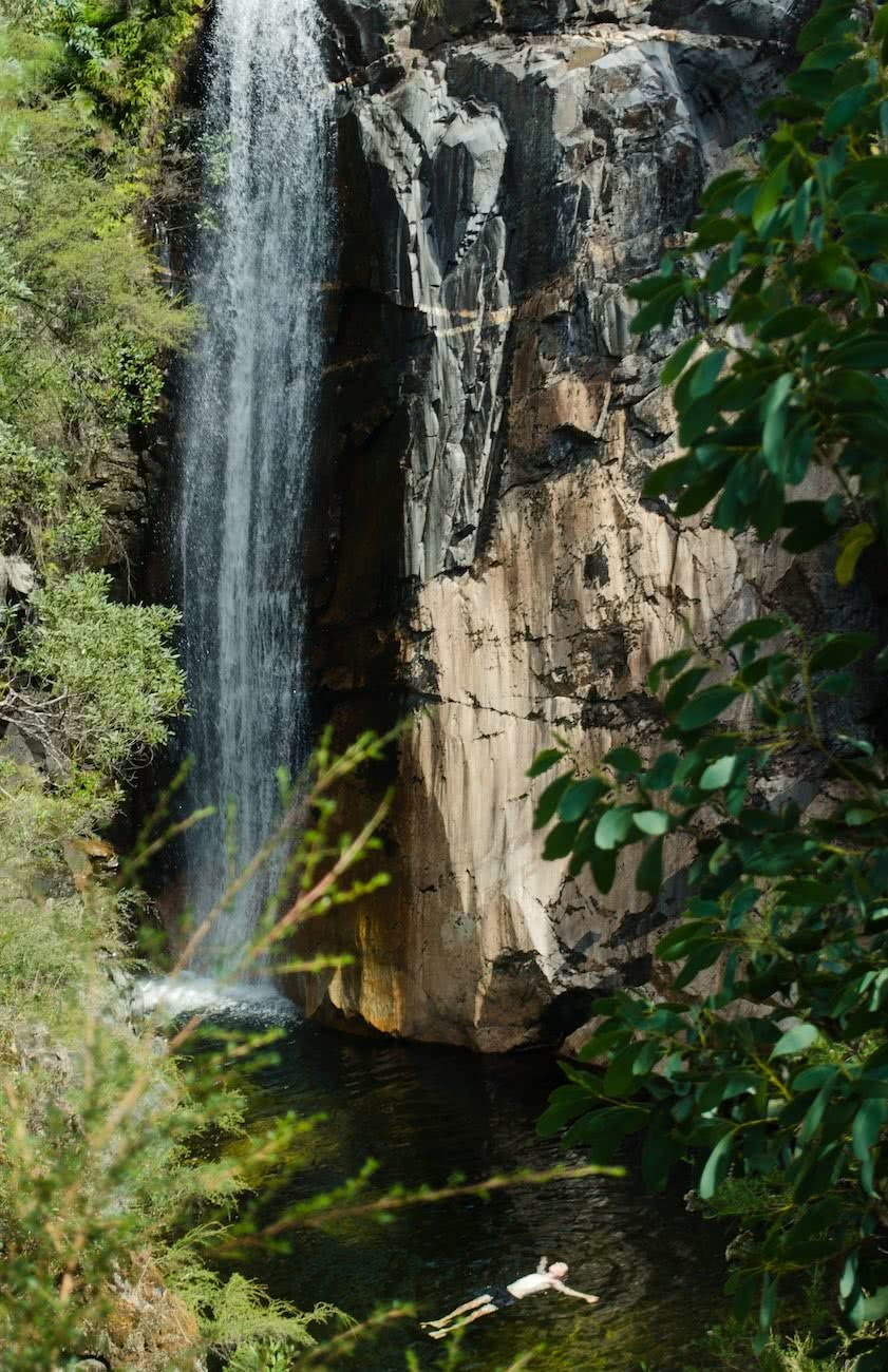 8 Ridiculously Beautiful Victorian Waterfalls To Chase This Summer Pat Corden Rollasons Falls, waterfall, pool, leaves, tree, cliff face, hero