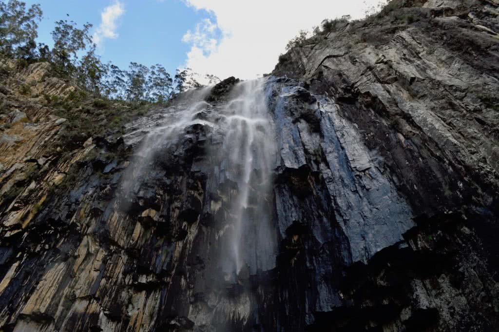 minyon falls, best waterfall hikes near brisbane, queensland, lisa owen, microadventure, waterfall