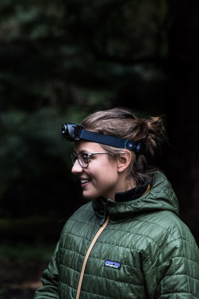 Pat corden, explorer review, head torch, Ellie Ledlenser mh-6