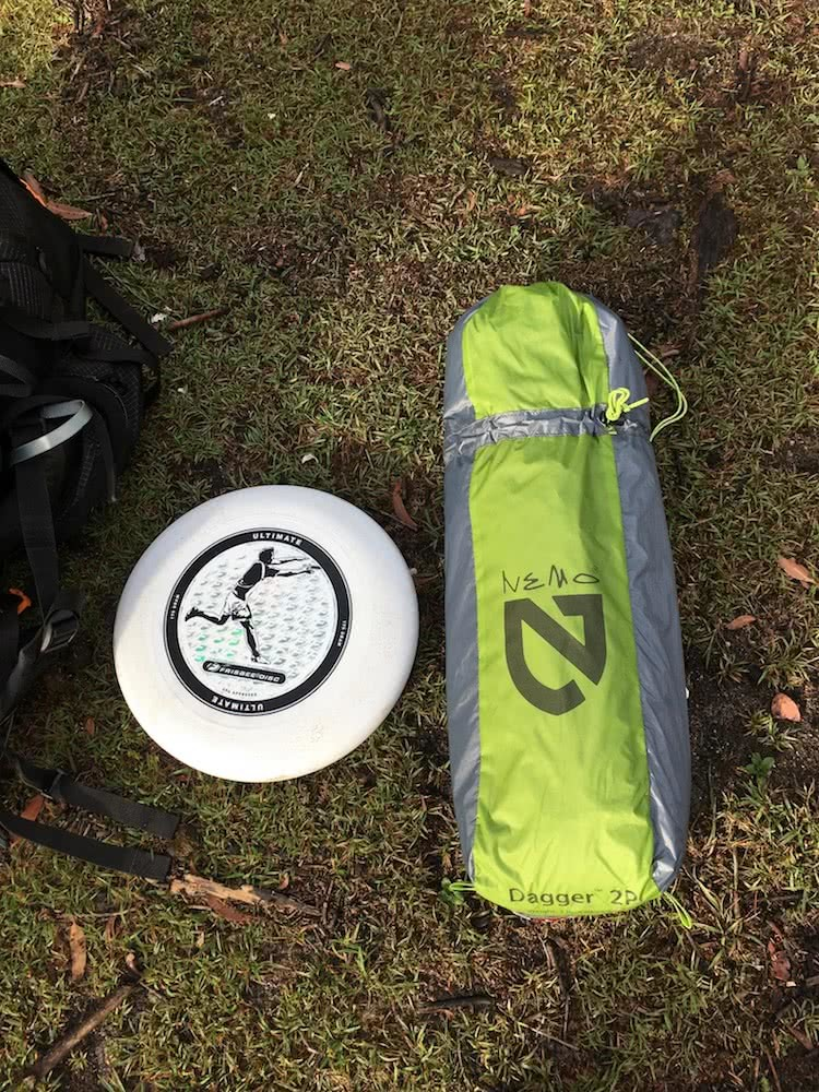 tim ashelford, nemo dagger 2p, review, tent, gear, backpacking, ultralight, size comparison