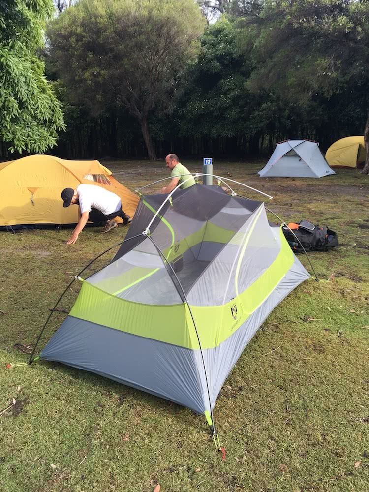 tim ashelford, nemo dagger 2p, review, tent, gear, backpacking, ultralight, fly off