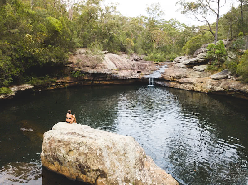 Jonathan Tan Minerva Pools dharawal national park hidden campbelltown swimming hole wild swimming