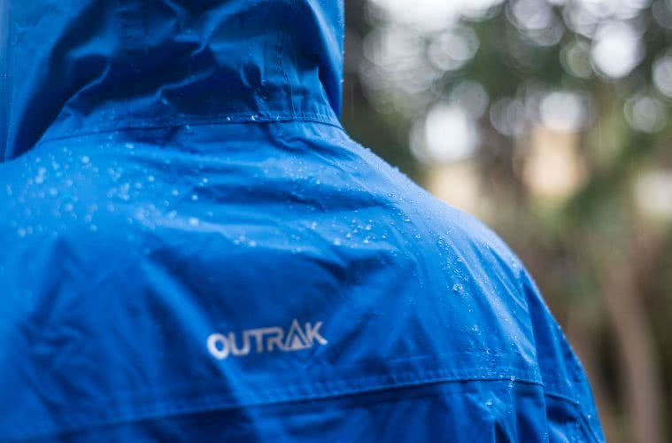 morgan cardiff, outrak packaway rain jacket, gear review, rays outdoors