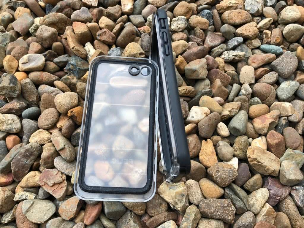 Pelican Marine Phone Case // Gear Review Dan Parkes, pebbles and case