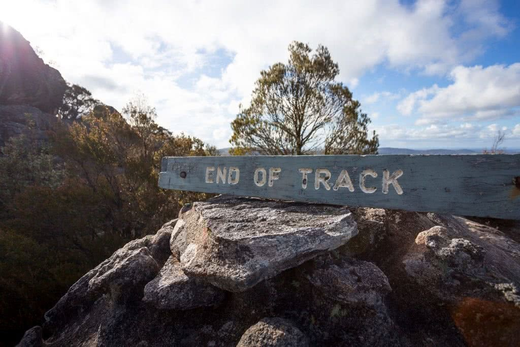 liam hardy, woolpack rocks, cathedral rocks national park, boulders, sunset, end of track