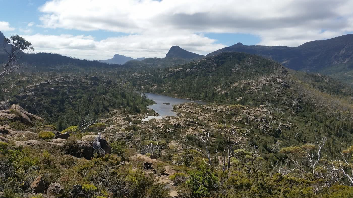 The Best Side Trip On The Overland Track? // Pine Valley Hut (TAS), Brooke Nolan, The Labyrinth, river, rocks, mountains, view