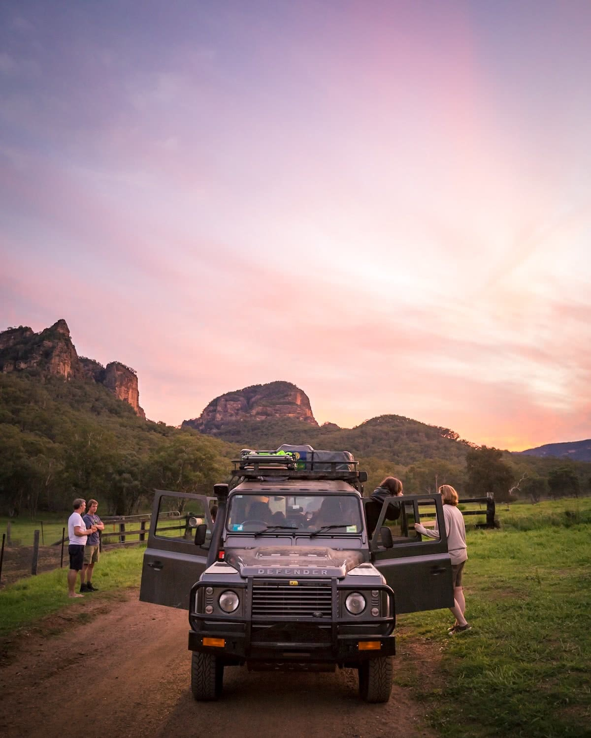 kate miles, road trip, defender, next adventure is closer than you think