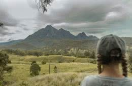 Jacquie Tapsall, hit the road jac, navigation course, wilderness escape, mt barney, south east, queensland, looking out
