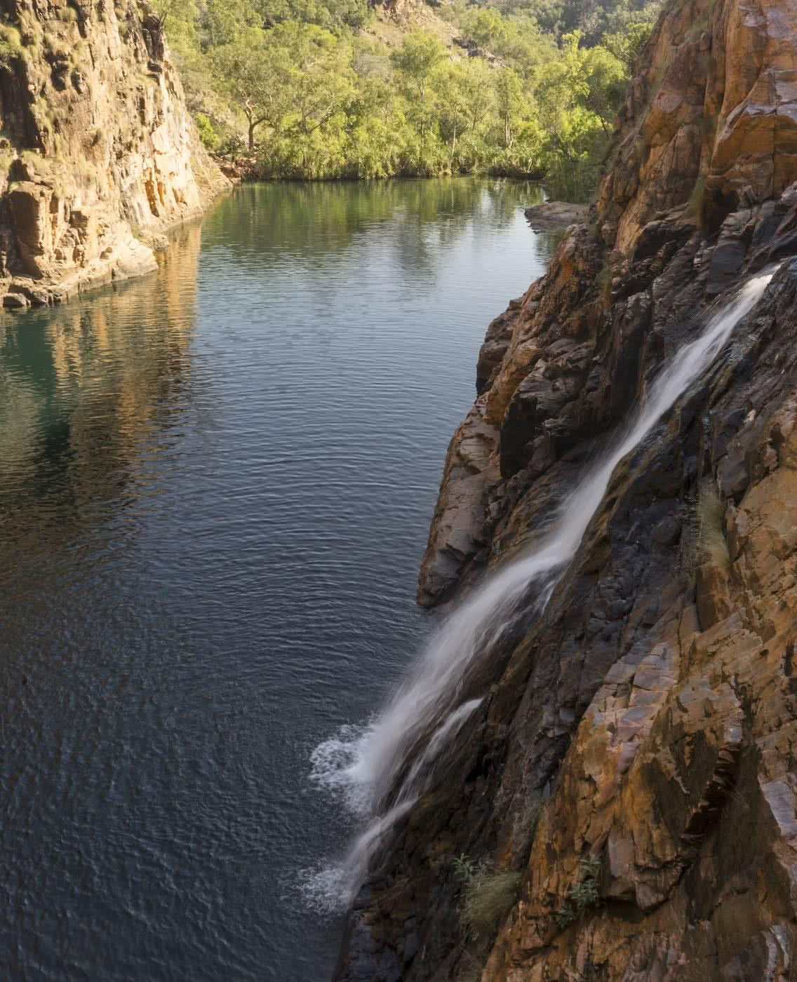 Lewis Burnett, Hunting for Paradise, Kakadu National Park, Photo Essay, waterfall, maguk, barramundi gorge