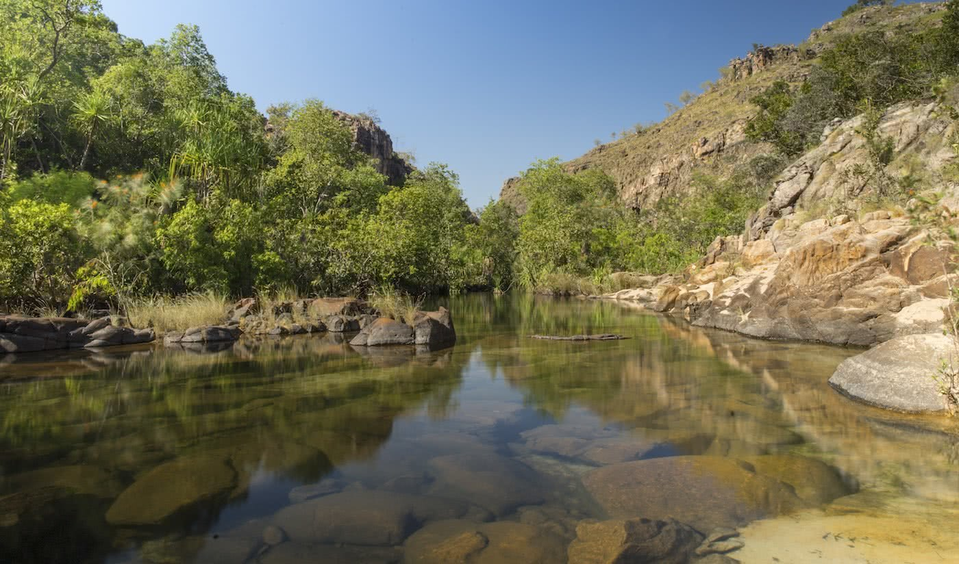 Lewis Burnett, Hunting for Paradise, Kakadu National Park, Photo Essay, maguk, barramundi gorge