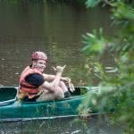 Ellie Keft human nature adventure therapy, bush, HNAT at-risk teens, canoeing, mentor, teenager, canoeing