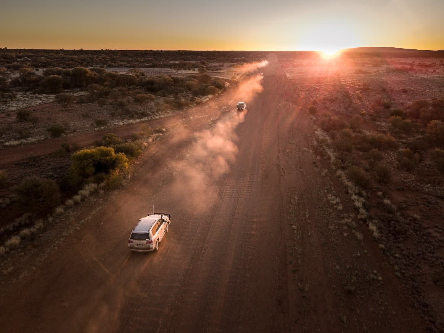 uluru to warakurna, rob mulally, outback way, longest shortcut, outback, red centre, sunset