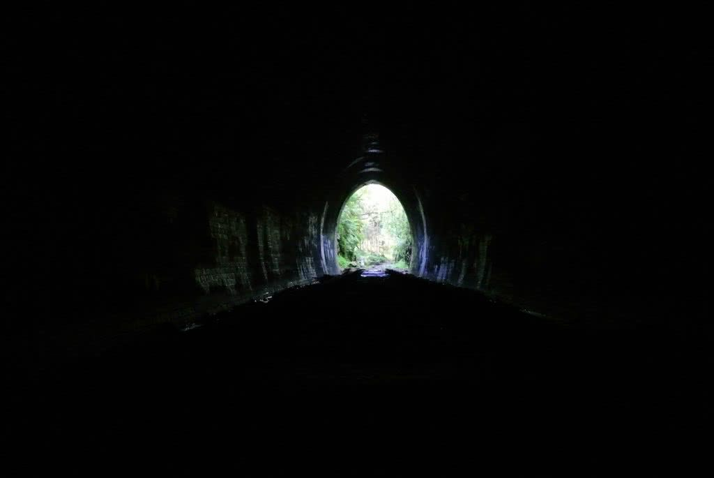 5 Cheeky Midweek Adventures In Sydney (NSW), Brooke Nolan, Photo by Cara van Wyk, tunnel, light at the end, dark, haunted